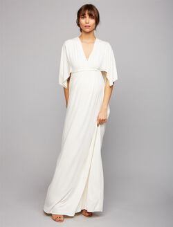 Rachel Pally Caftan Maternity Maxi Dress, White