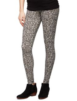 Secret Fit Belly Maternity Leggings- Ditsy Floral, Ditsy Floral