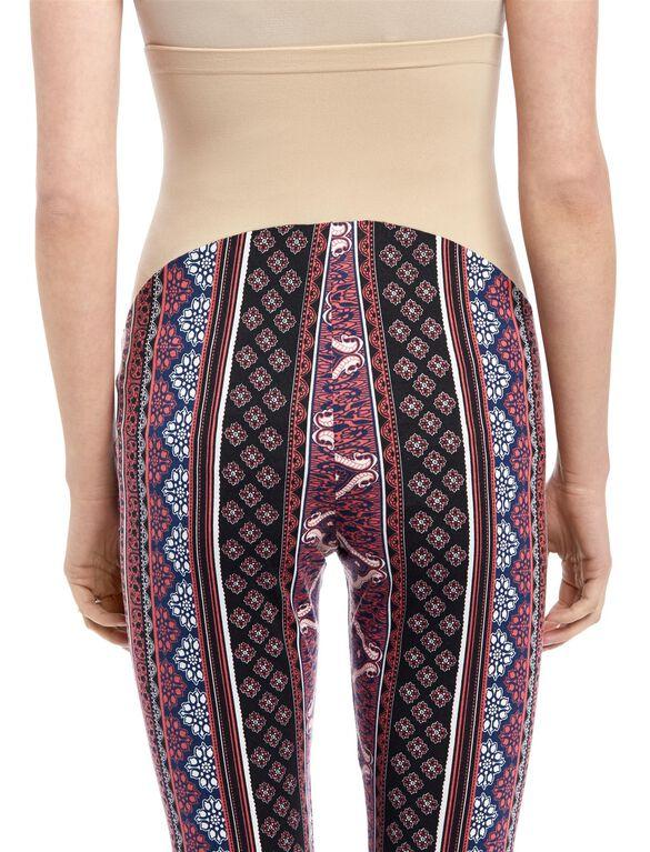 Secret Fit Belly Super Flare Maternity Pants, Multi Stripe Paisley