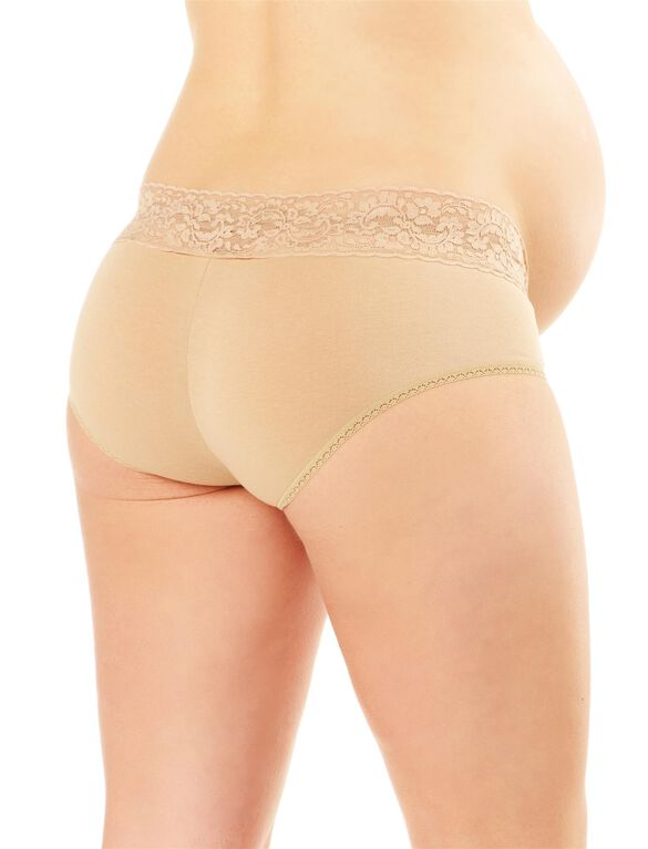 Lace Collection Lace Maternity Girl Short (single), Nude