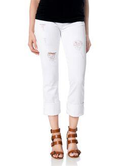Hudson Secret Fit Belly Skinny Leg Maternity Crop Jeans, Gateways