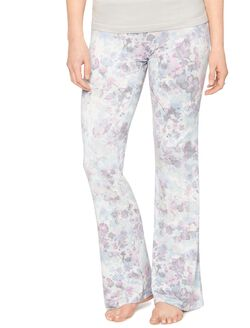 Bow Detail Maternity Sleep Pants- Prints, Floral Print