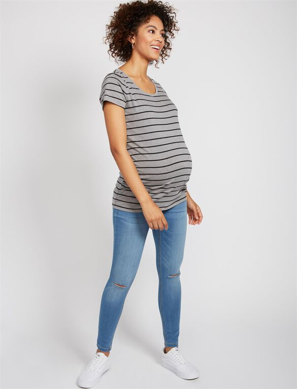 Secret Fit Belly Skinny Jegging Maternity Jeans, Medium