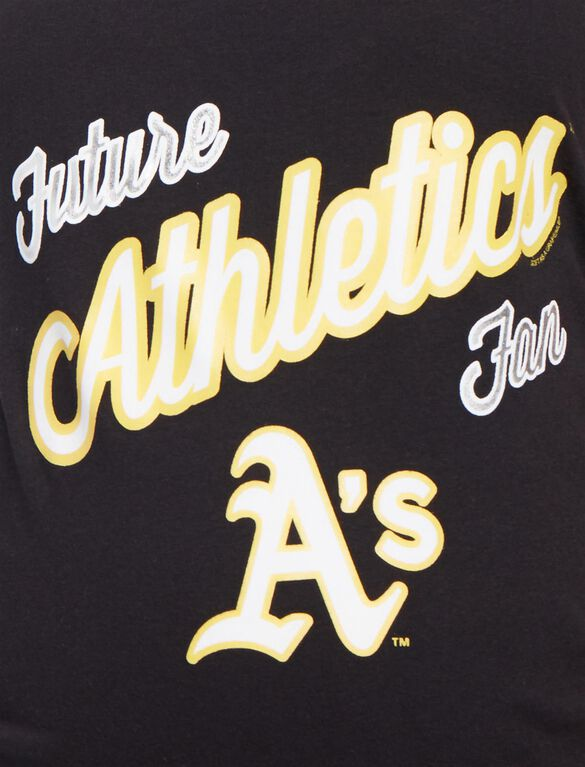 Oakland Athletics MLB Future Fan Maternity Tank, Athletics Black