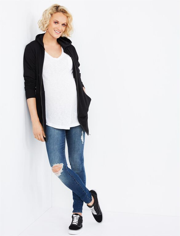 Articles of Society Secret Fit Belly Sarah Ankle Skinny Maternity Jeans- Hollywood, Hollywood