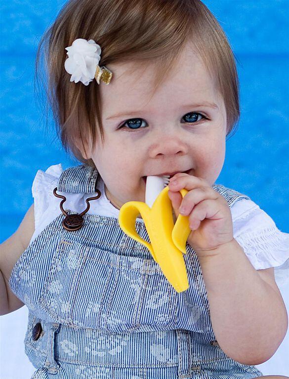 Baby Banana Infant Teething Toothbrush, Banana