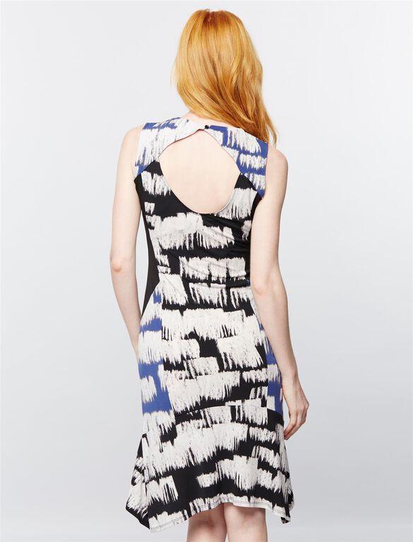 BCBGMAXAZRIA Abigail Maternity Dress, Print