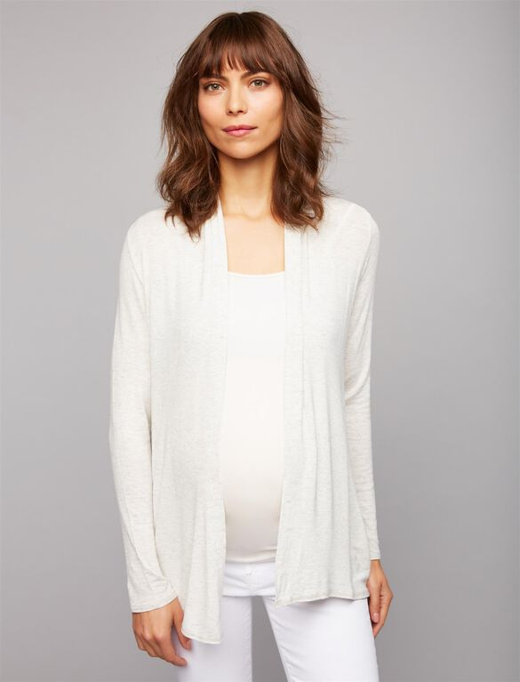 Splendid Maternity Cardigan, Grey