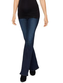 AG Jeans Secret Fit Belly Angel Boot Cut Maternity Jeans, Midnight Swim -dark