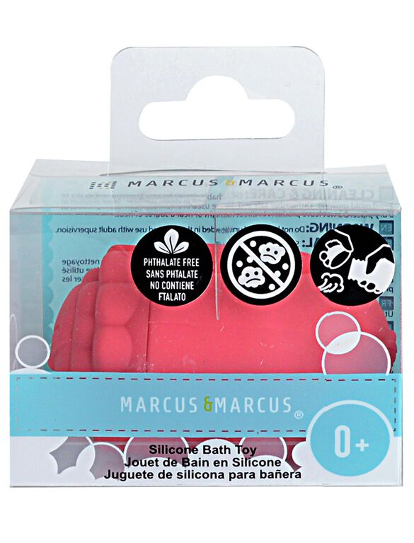 Marcus & Marcus Silicone Lion Bath Toy, Lion
