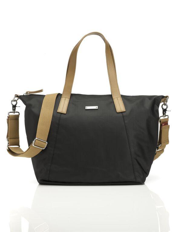 Storksak Noa Diaper Bag– Black, Black