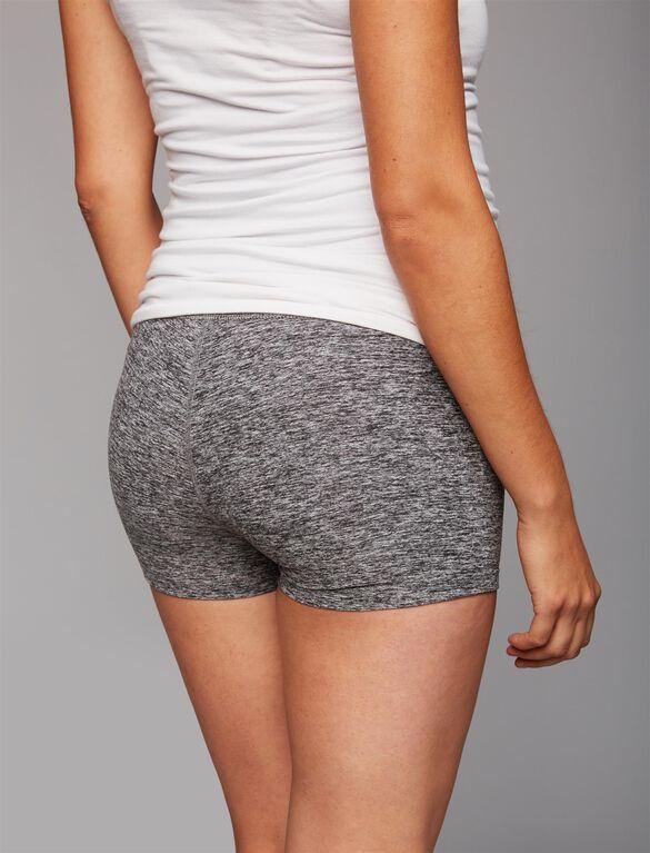 Beyond The Bump Straight Leg Maternity Shorts, Spacedye
