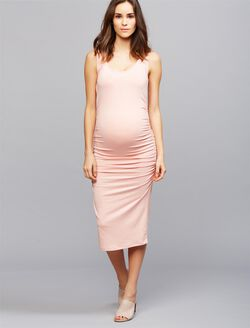 Isabella Oliver Ellis Maternity Tank Dress, Pink