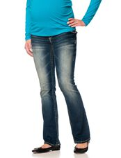 Wallflower Secret Fit Belly Boot Maternity Jeans, Katy Wash