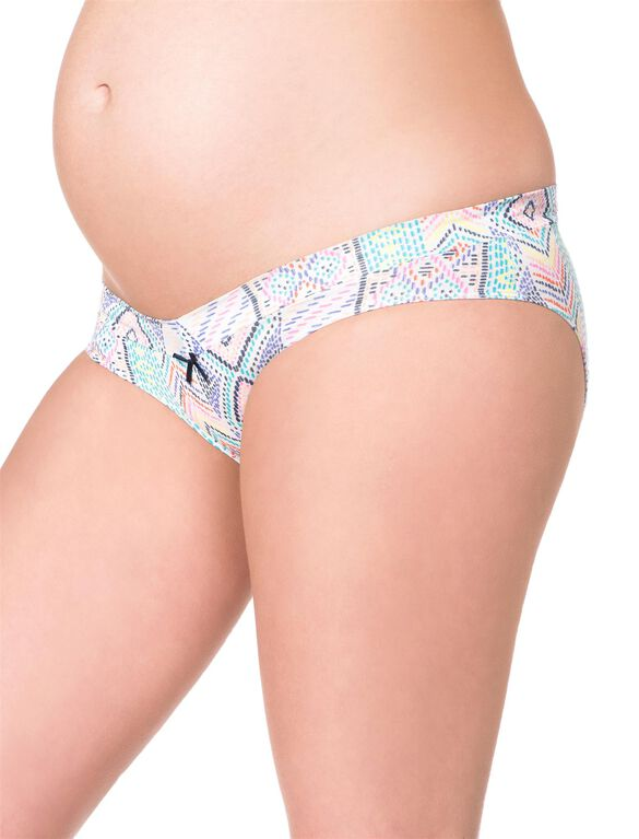 Maternity Hipster Panties (3 Pack)- Multi/Stripe/Navy, Navy Tribal
