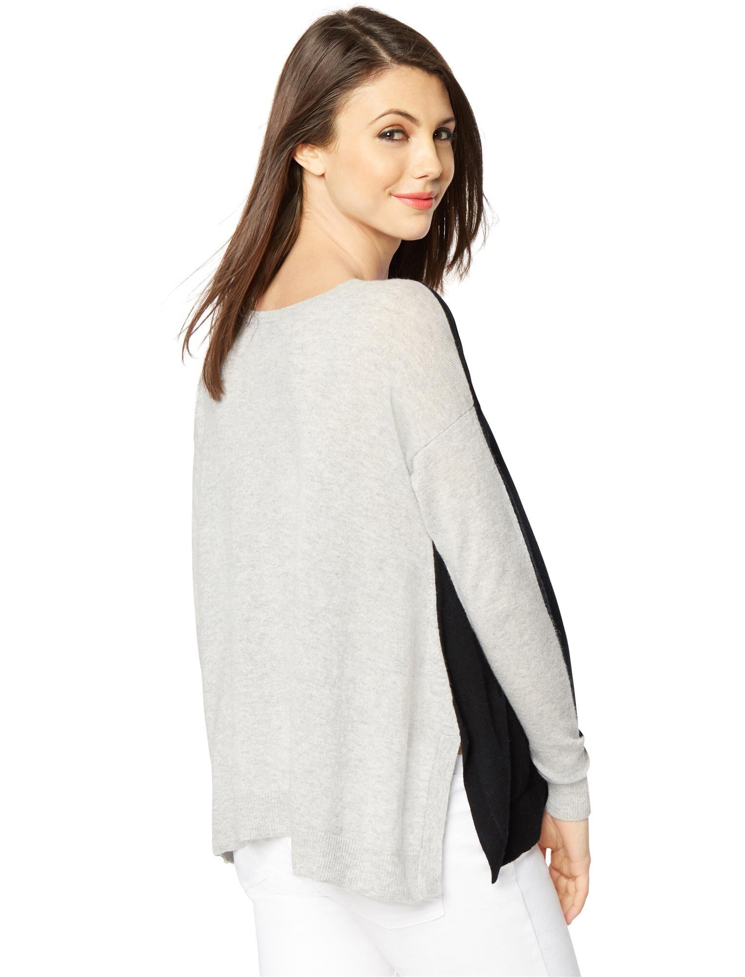 Autumn Cashmere Reversible Maternity Sweater