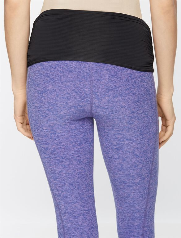 Beyond The Bump Super Soft Adjustable Belly Maternity Leggings, Lavender