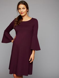 Isabella Oliver Natalia Maternity Dress, Winter Cherry