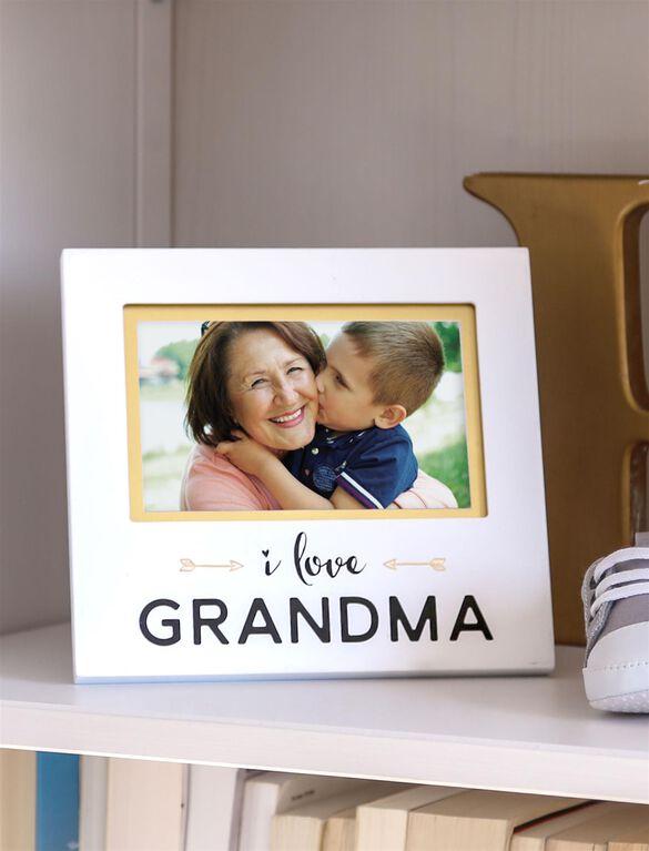 Pearhead I Love Grandma Photo Frame, Grandpa Frame
