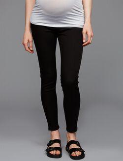DL1961 Under Belly Jess Skinny Ankle Maternity Jeans, Black