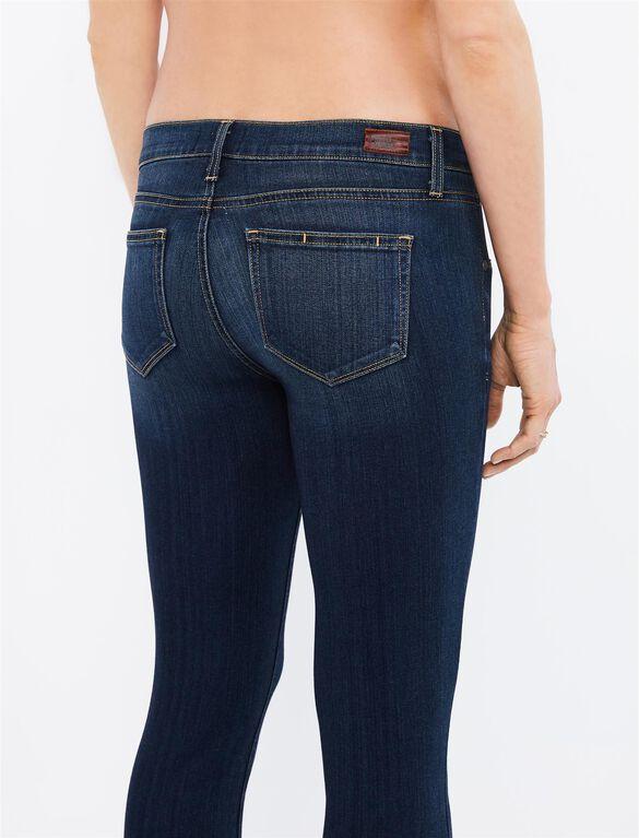 Paige Side Panel Verdugo Ultra Skinny Maternity Jeans, Nottingham