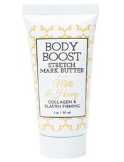 Body Boost By Basq Stretch Mark Butter Travel Size, Milk & Honey