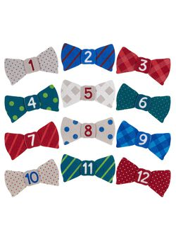 Pearhead First Year Bow Tie Stickers, Bow Tie Stickers