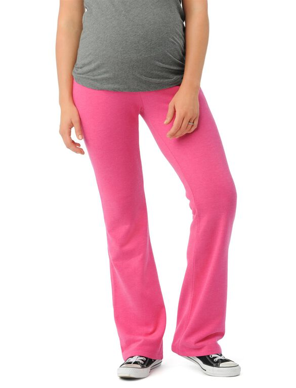 Under Belly French Terry Classic Maternity Active Pant, Beetroot