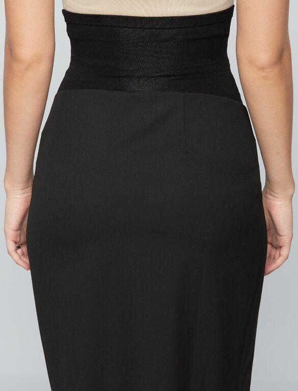 Secret Fit Belly Maternity Pencil Skirt, Black