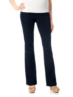 Indigo Blue Secret Fit Belly Boot Cut Maternity Jeans, Rinse Wash