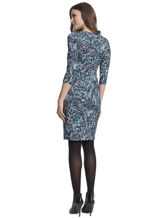 Seraphine Maternity Dress, Multi Spot Print
