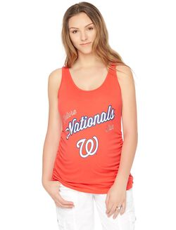 Washington Nationals MLB Future Fan Maternity Tank, Nationals