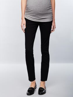 FRAME Secret Fit Belly Le Skinny de Jeanne Maternity Jeans- Film Noir, Film Noir