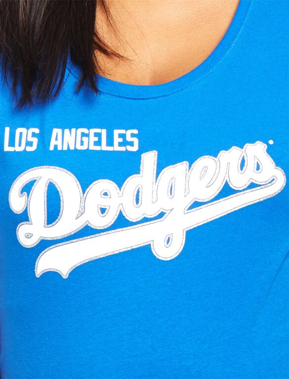 Los Angeles Dodgers MLB You're Out Maternity Tee, Dodgers Blue
