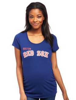 Boston Red Sox MLB You're Out Maternity Tee, Red Sox Navy