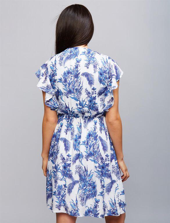 Envie De Fraise Suzy Nursing Dress, Blue White