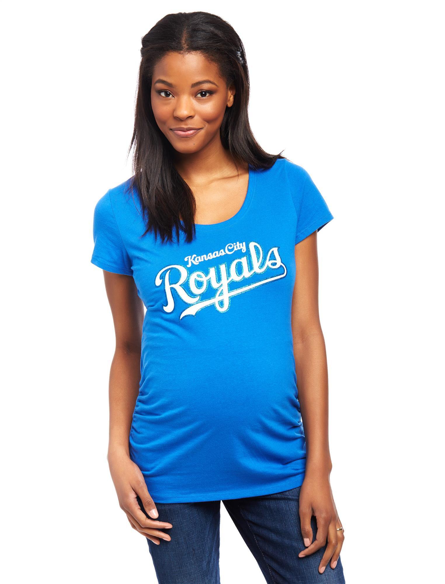 Kansas City Royals MLB You're Out Maternity Tee