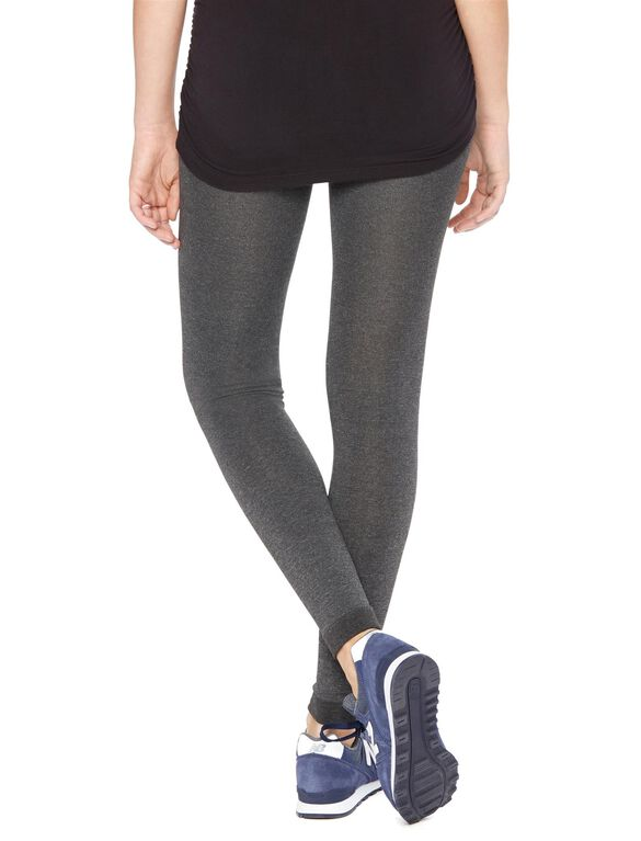 Fleece Lined Footless Tight Grey, Grey