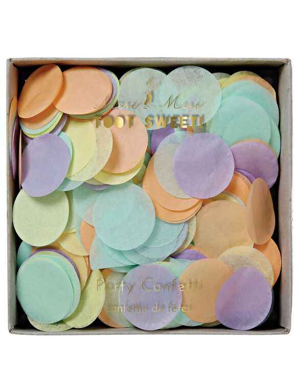 Meri Meri Party Confetti, Pastel