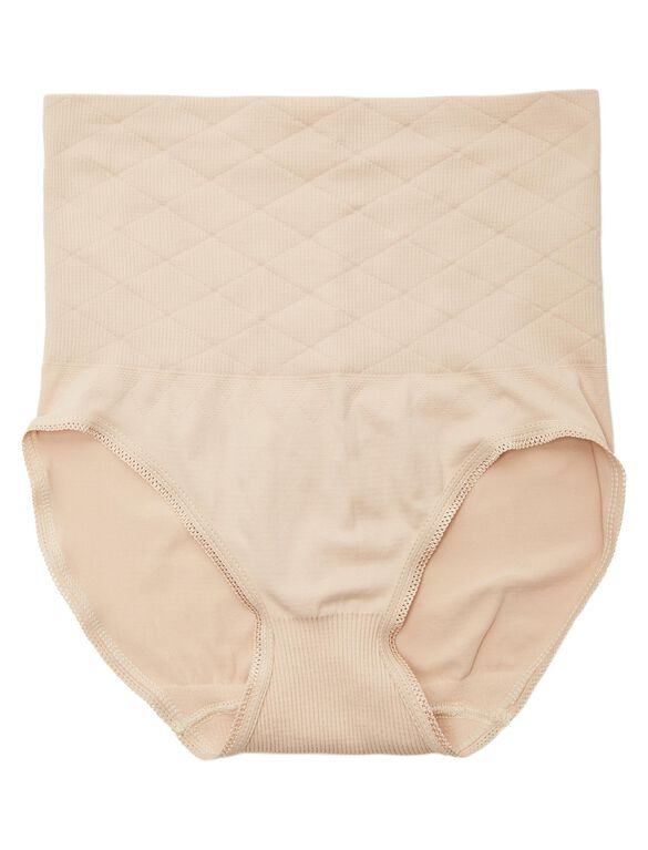Scott Specialties Rib Knit Post Pregnancy Shaper (single), Nude