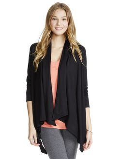 Jessica Simpson Nursing Cardigan, Black
