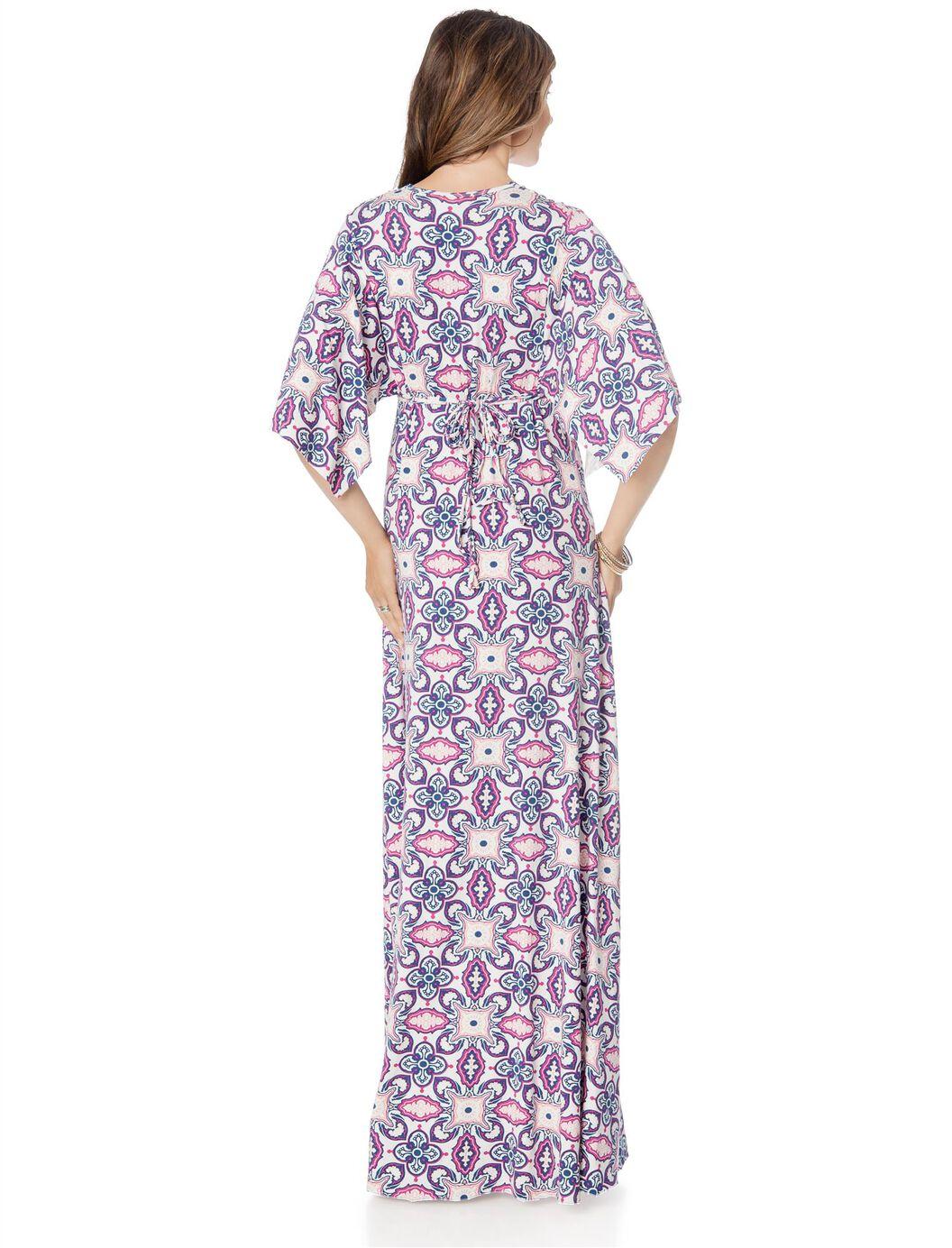 Rachel pally caftan maternity dress a pea in the pod maternity rachel pally caftan maternity dress jubilee bandana ombrellifo Images