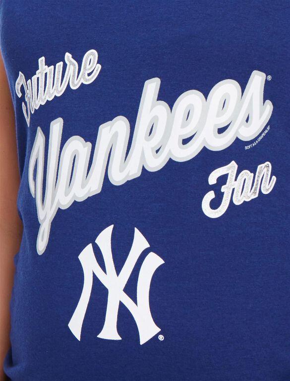 New York Yankees MLB Future Fan Maternity Tank, Yankees Navy