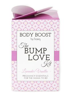 Body Boost by Basq The Bump Love Kit- Lavender Vanilla, Lavendar & Vanilla
