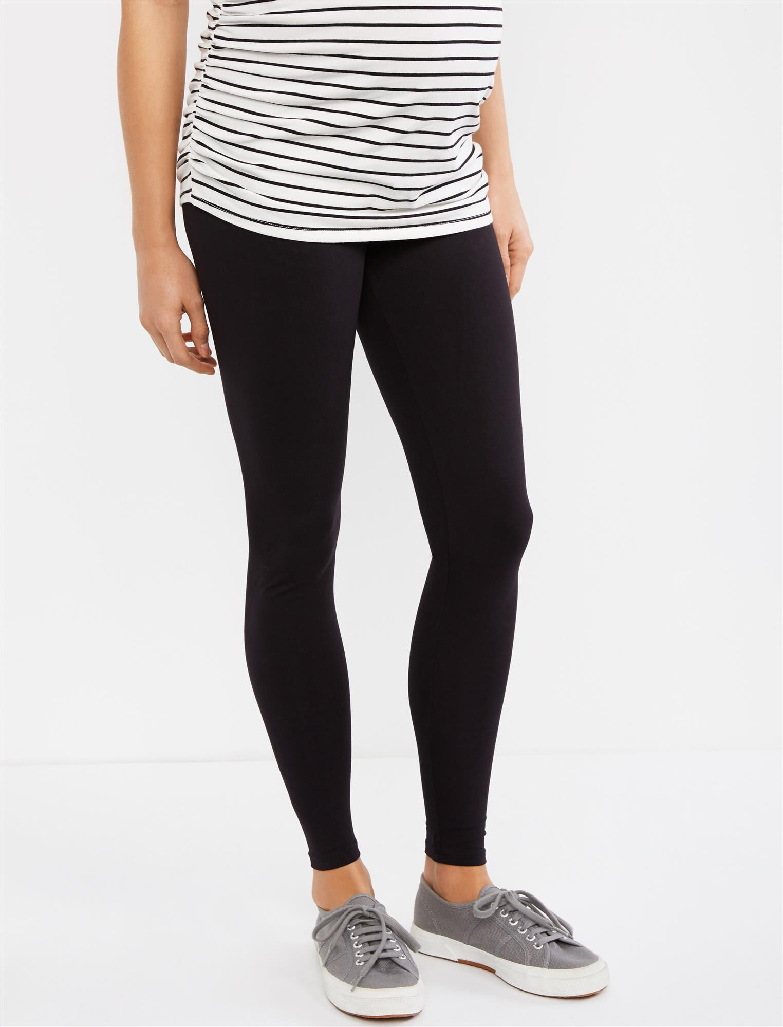 Secret Fit Belly Maternity Leggings- Solid