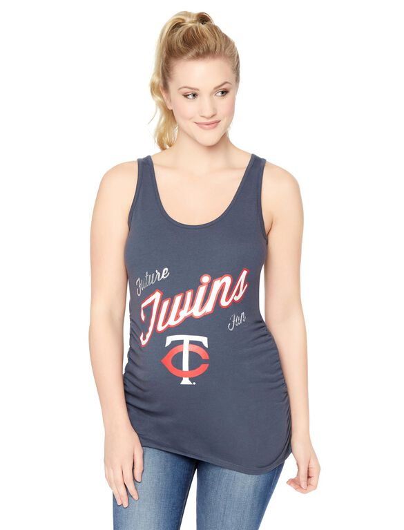 Minnesota Twins MLB Future Fan Maternity Tank, Twins