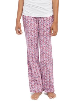 Maternity Sleep Pants, Fan Print