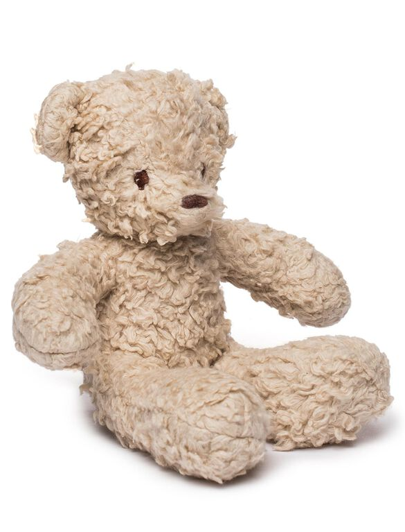 Bears for Humanity Cream Baby Sherpa Bear, Cream Baby Bear