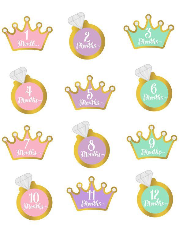Pearhead Little Princess Foil Stickers, Little Princess