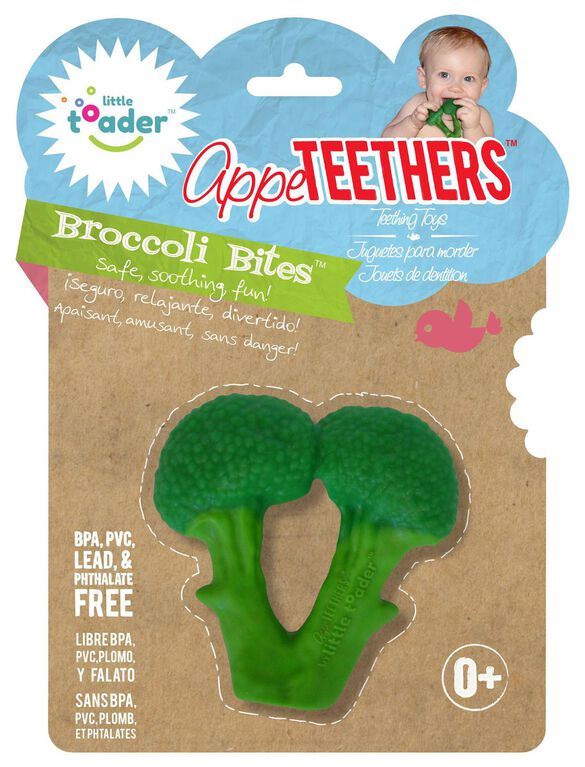 Little Toader Appe-Teethers- Broccoli Bites, Broccoli Bites
